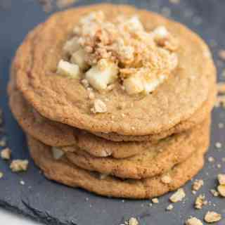 Apple Crumble Cookies