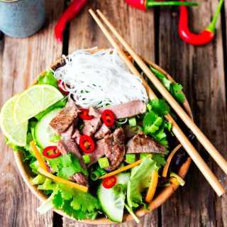Vietnamese Steak Salad