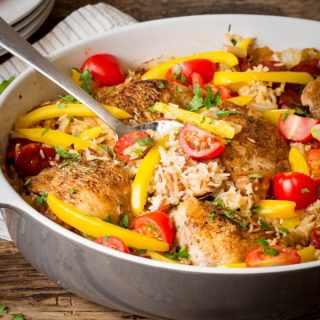 Spanish Chicken One-Pot