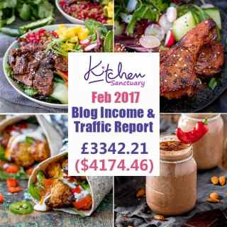 Blog Income and Traffic Report February 2017