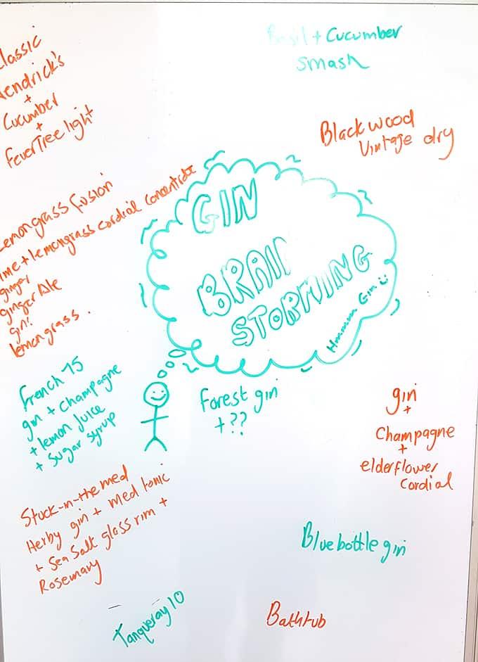 Gin Brainstorming