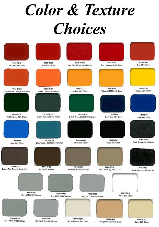 Imperial Color Chart For Rangehoods