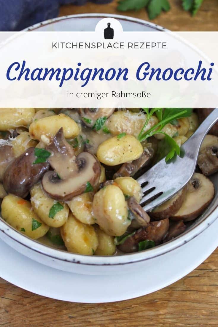 Champignonå Gnocchi