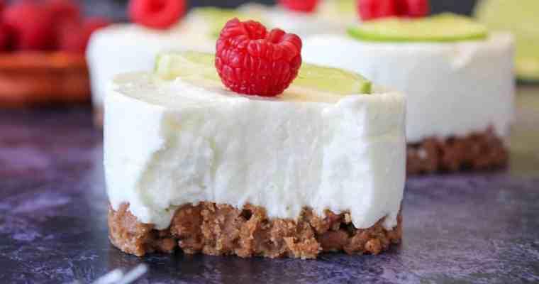 Limetten Cheesecake No-Bake