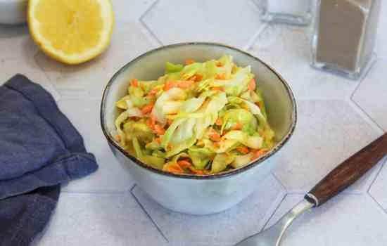 Coleslaw mit Spitzkohl