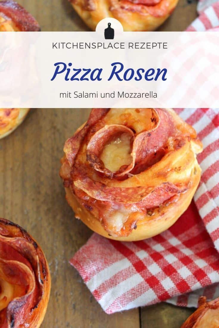 Pizza Rosen Rezept