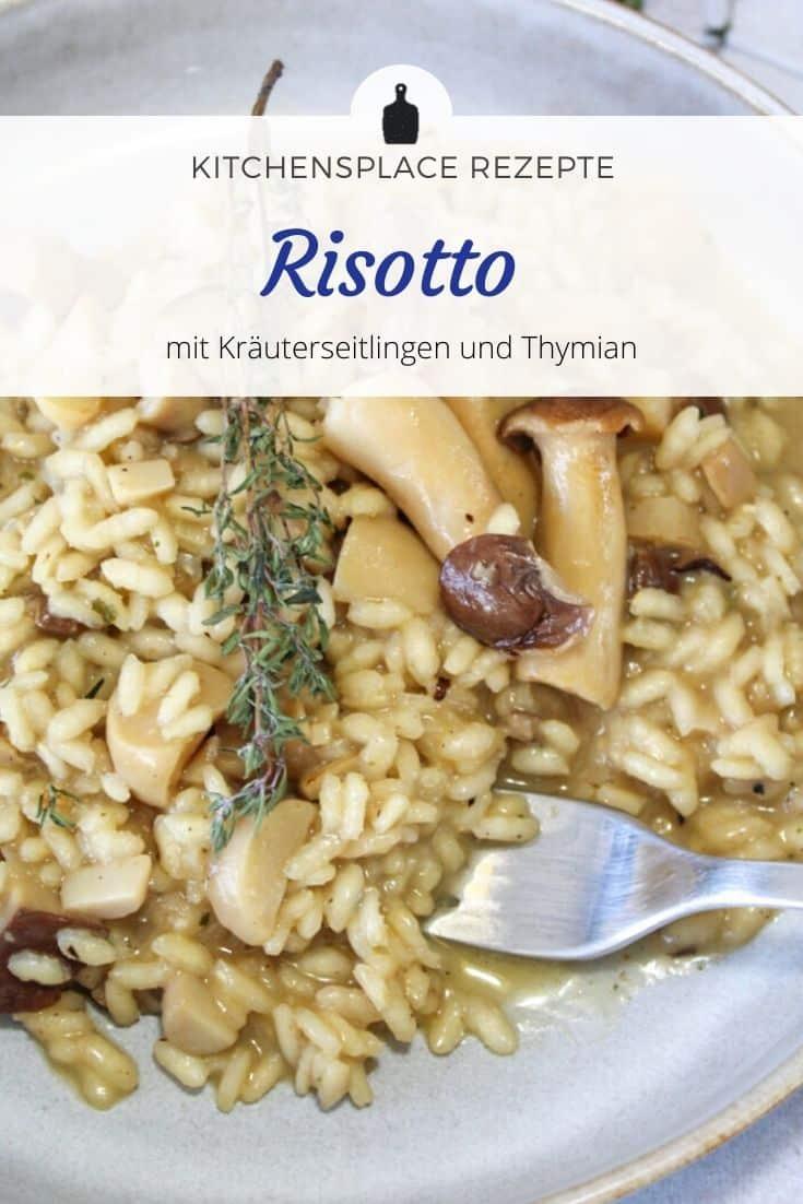 Rezept Risotto mit Kräuterseitlingen