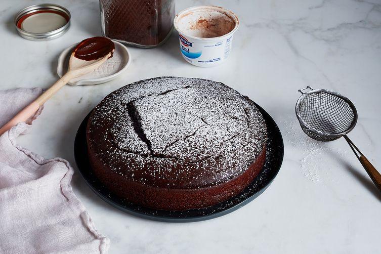 One bowl, No measure Chocolate Cake