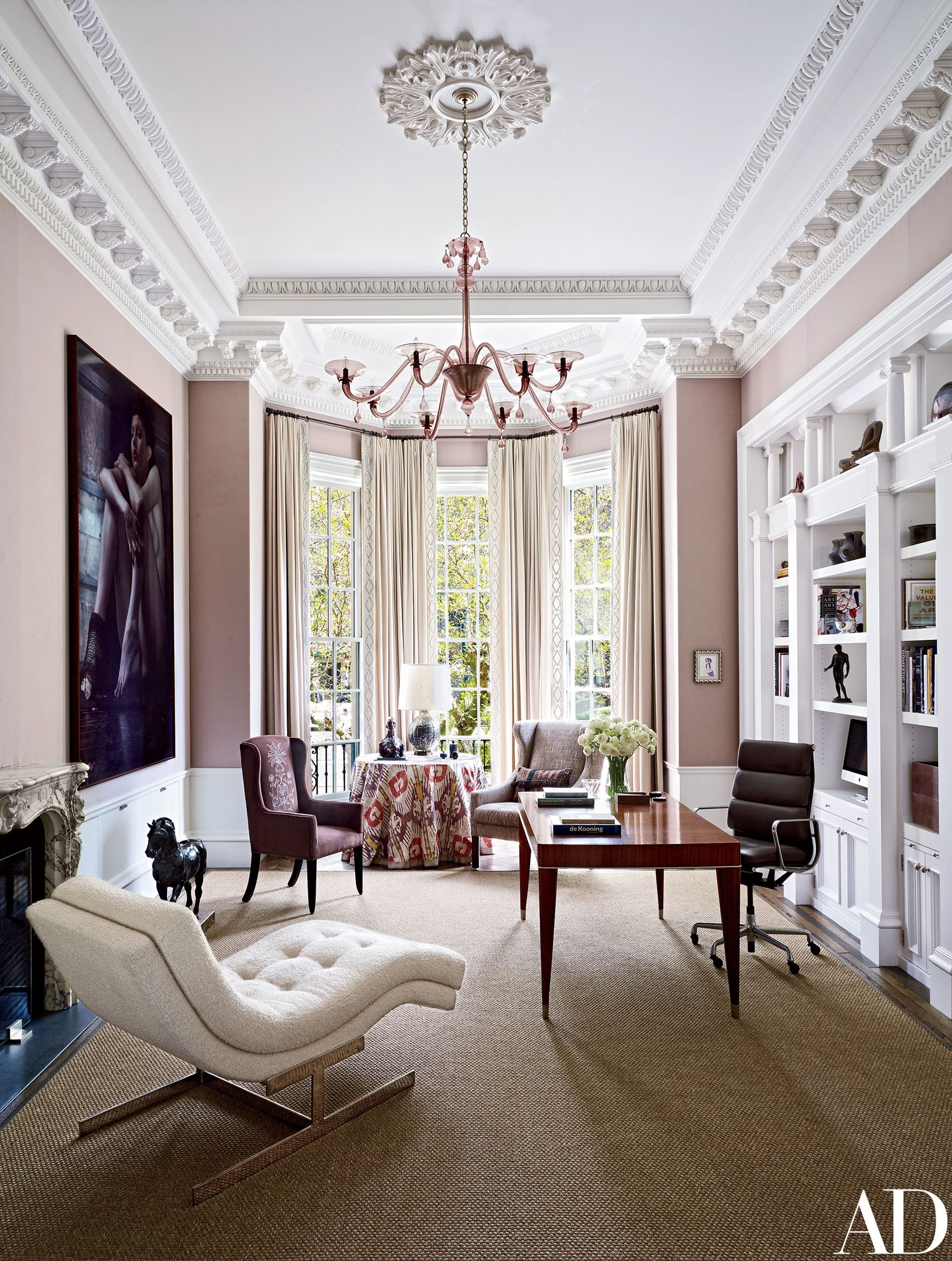 Pink is all the rage right now. See Graham and Brown's 2018 Color of the Year