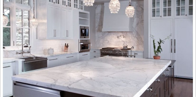 Calacatta marble alternatives from Kitchen Studio of Naples