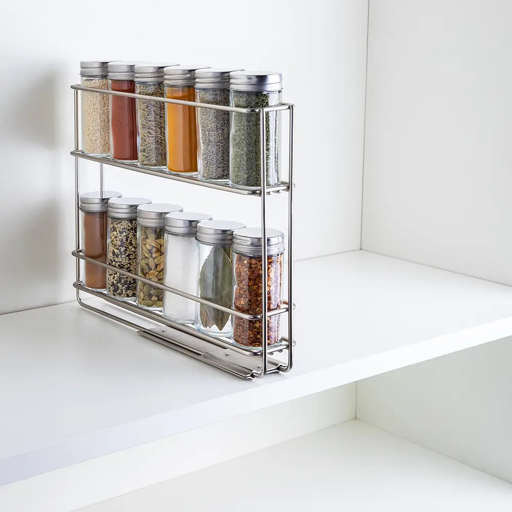 spice racks spice jars kitchen