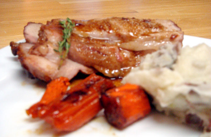 Maple Soy Glazed Pork Loin