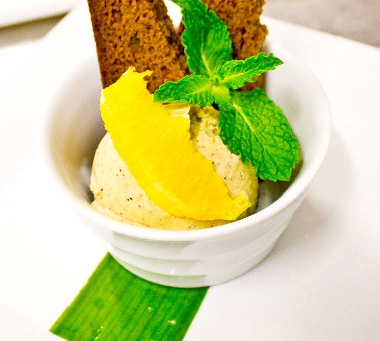 Sichuan Peppercorn Ice Cream