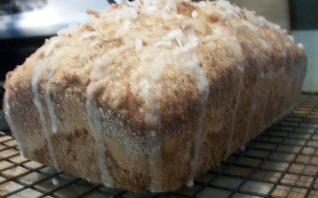 Lemon Coconut Tea Bread