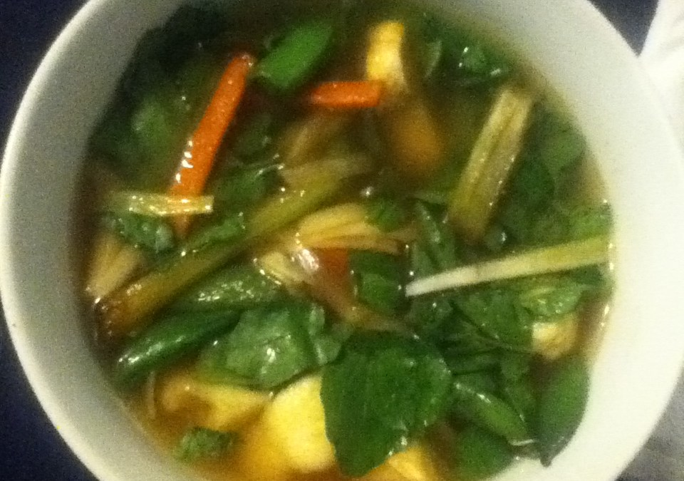 Vegetable Watercress Soup