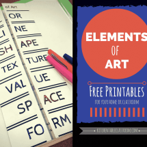 elements of art facebook image