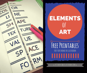 A simple introduction to the elements of art!