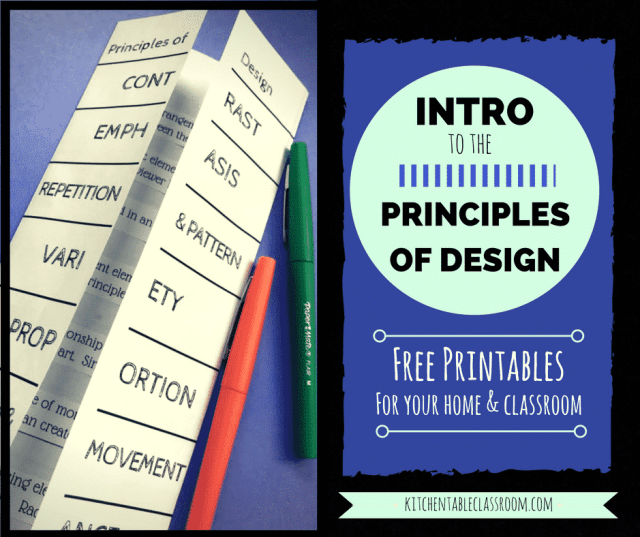 Classroom Design Principles : An introduction to the principles of design for kids