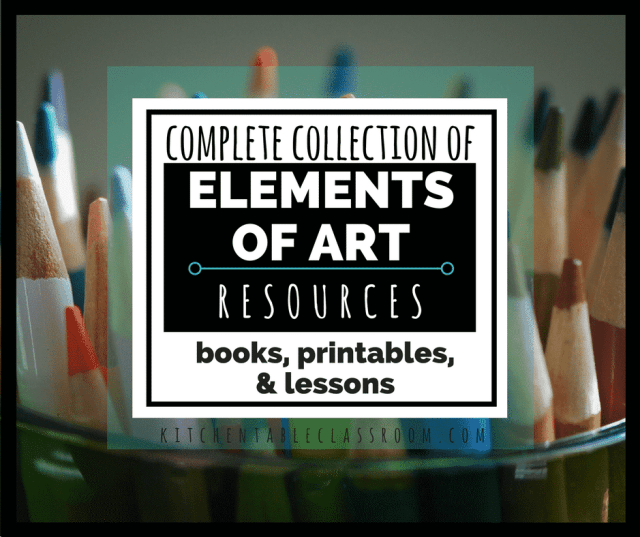 Learning how to define and manipulate the seven elements of art will allow your child to talk about, make, and appreciate art at a whole new level!