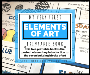 Free printable elements of art book