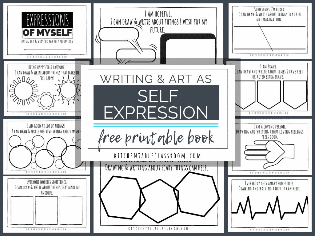 Self Expression Through Writing Amp Art Free Self Esteem