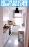 Tips To Choose Kitchen Cabinet For A Small Kitchen Small Kitchen Guides