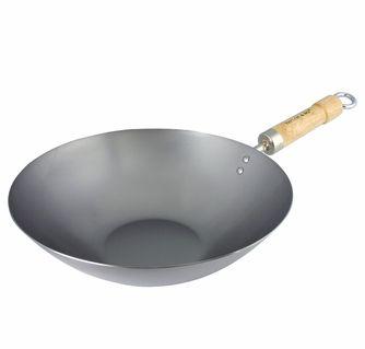 Flat bottom wok