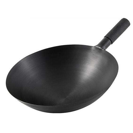 Round bottom wok