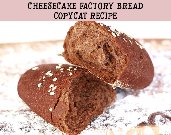 Finally, a copycat recipe of that incredible Cheesecake Factory bread! These little honey wheat brown bread loaves are the most popular recipe on my blog!