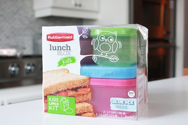 Rubbermaid lunch blox 4