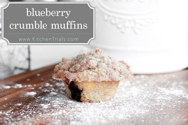 Best blueberry muffins pin