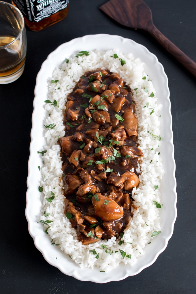 Bourbon Chicken With That Slightly Sweet Sauce You Love Kitchen Trials