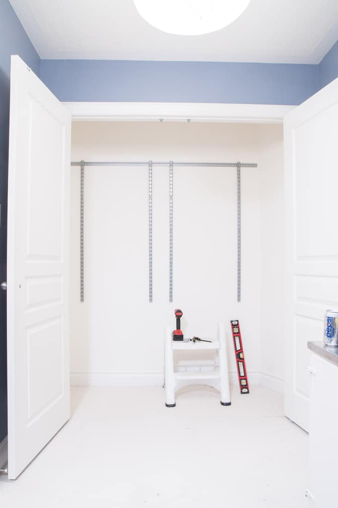 Rubbermaid Configurations Custom Closet Kit Tutorial