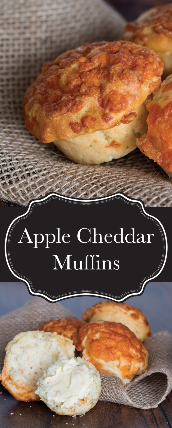 My apple cheddar muffins are half biscuit, half muffin and all flavour. They're totally the kind of snack kids love, and call pull double duty as a side for a hearty fall dinner, like my harvest stew.