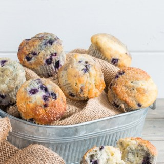 Everyone's Favorite Blueberry Muffins