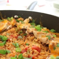 Mexican Style Skillet Chicken and Rice