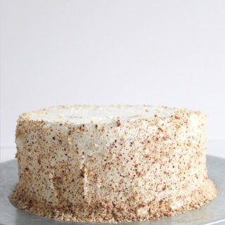 Hazelnut Cream Cake