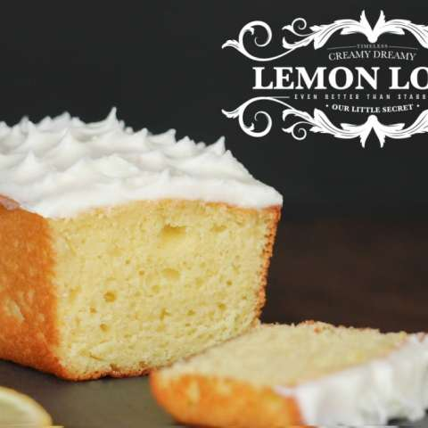 Creamy Dreamy Lemon Loafs (Shhh… They're better than Starbucks!)