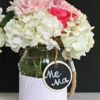 Painted Dipped Jars