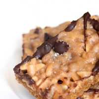salted toffee squares