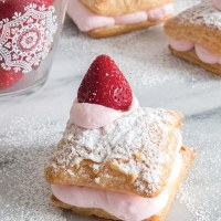 Super Easy Cream Puffs (I mean it, 3 ingredients!)