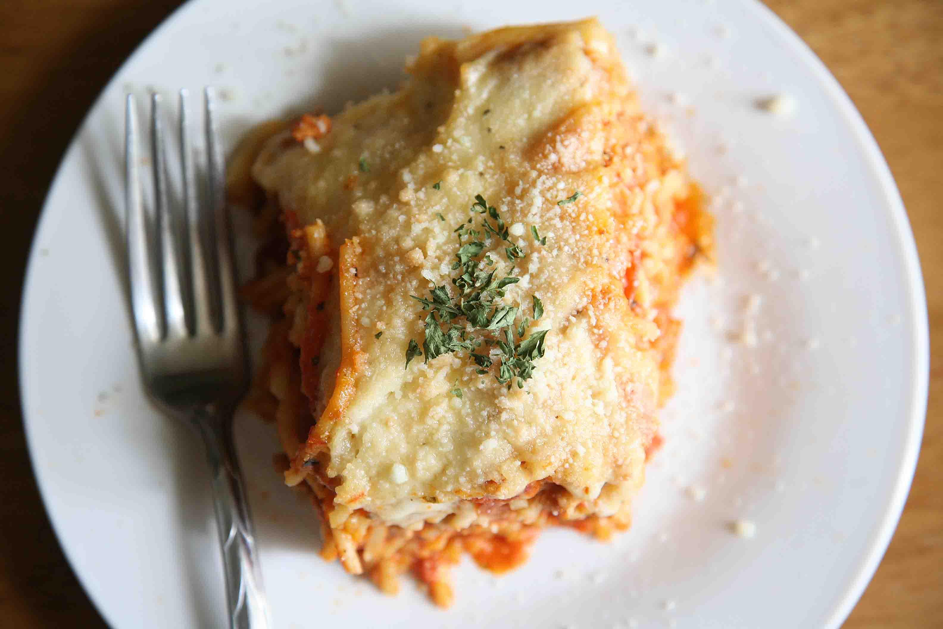 Creamy Baked Spaghetti (Kitchionista Style)