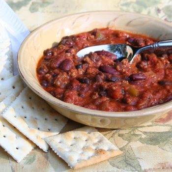Black Bean chili with Ancho
