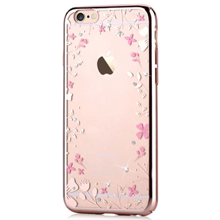 Devia Crystal spring for iPhone 6 & iPhone 6s Champagne Gold