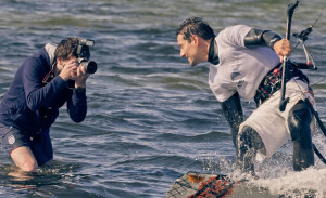 Sport-Fotograf Raphael bei Motivsuche :-)