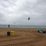 Barcelonas Strand ein Kite Paradies ?