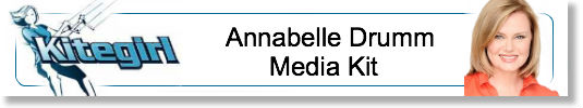 Media Kit for Kitegirl Coach Annabelle Drumm