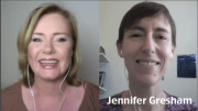 Video interview Annabelle Drumm and Jennifer Gresham on career direction