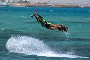 Annabel Van Westerop Hurghada Kiteworld travel