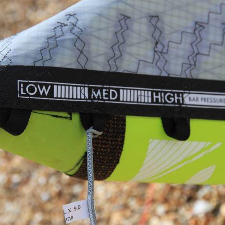 Rear line settings on the 2015 Airush Varial-X kite range